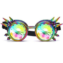 Load image into Gallery viewer, Kaleidoscope Diffracted Rave Glasses