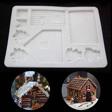Load image into Gallery viewer, Silicone  House . Baking Tools Chocolate Candy Cookies Decor Cake Mold. Christmas House