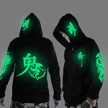 Load image into Gallery viewer, Glowing in The Niight Ghost Dance Hoodie