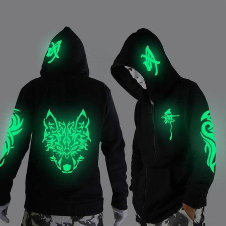 Glowing in The Niight Ghost Dance Hoodie