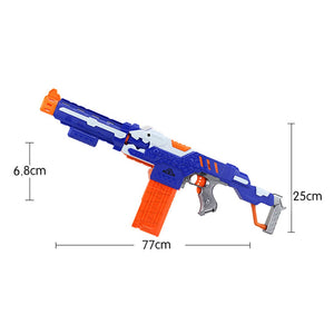 Soft Darts Electric Long Toy Gun