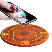 Load image into Gallery viewer, Magic Array  Circle Wireless Fast 10 W Charger  iPhone and Android