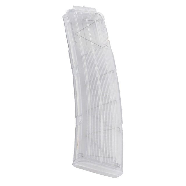 Big Transparent Magazine for Soft Darts Guns Like  Nerf