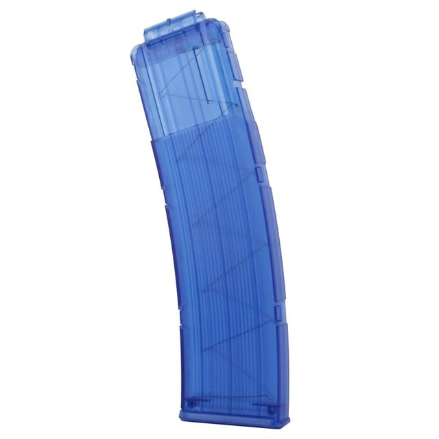 Big  Blue Magazine  for Soft Darts Guns Like  Nerf