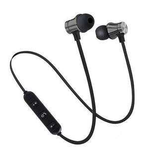 Magnetic Wireless Bluetooth Earphone Stereo. Sports. Waterproof Earbuds  For IPhone 7 Samsung