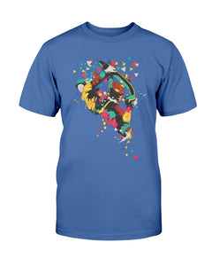 Men's Gildan Ultra Cotton T-Shirt Graffiti Skateboarder