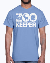 Load image into Gallery viewer, Men's Gildan Ultra Cotton T-Shirt . Zoo Keeper
