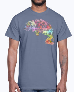 G2000 Unisex Ultra Cotton T-Shirt 12 Colors. Life Is Better With Manatees