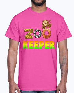G2000 Unisex Ultra Cotton T-Shirt 12 Colors. Gift For Zoo Keeper. Costume