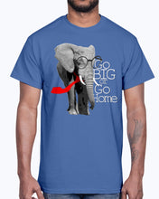 Load image into Gallery viewer, Men's Gildan Ultra Cotton T-Shirt  Cool Elephant