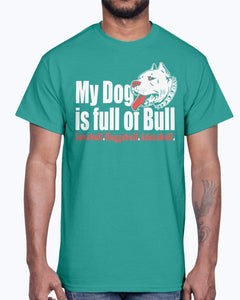 Men's Gildan Ultra Cotton T-Shirt  My Dog