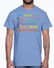 Load image into Gallery viewer, Men's Gildan Ultra Cotton T-Shirt  Horse colours