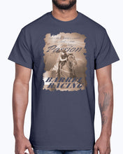 Load image into Gallery viewer, Men's Gildan Ultra Cotton T-Shirt .Barrel racing passion