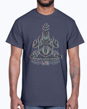 Load image into Gallery viewer, Men's Gildan Ultra Cotton T-Shirt 12 Dark colors. Kniggits from sayeth, design-925