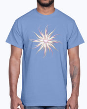 Load image into Gallery viewer, Men's Gildan Ultra Cotton T-Shirt . Starfish with heart