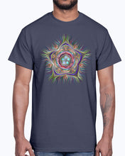 Load image into Gallery viewer, Men's Gildan Ultra Cotton T-Shirt . Chromatic Starfish