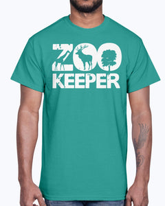 Men's Gildan Ultra Cotton T-Shirt . Zoo Keeper