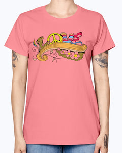 Gildan Ladies Missy T-Shirt Summer design