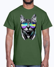 Load image into Gallery viewer, Men's Gildan Ultra Cotton T-Shirt  DJ Cat