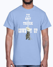 Load image into Gallery viewer, Men's Gildan Ultra Cotton T-Shirt   Cowboy up youth