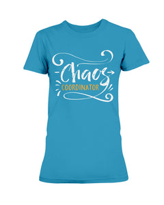 Gildan Ladies Missy Cotton T-Shirt Chaos Coordinator