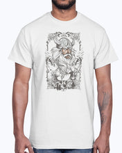 Load image into Gallery viewer, Men's Gildan Ultra Cotton T-Shirt 11 Light coloros       Viking -design-689