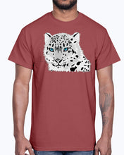 Load image into Gallery viewer, G2000 Unisex Ultra Cotton T-Shirt 12 Colors         Animal snow leopard