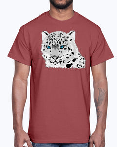 G2000 Unisex Ultra Cotton T-Shirt 12 Colors         Animal snow leopard
