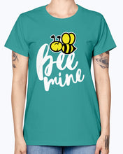 Load image into Gallery viewer, Gildan Ladies Missy T-Shirt 16 colors.  Bee Mine