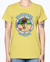 Load image into Gallery viewer, Gildan Ladies Missy T-Shirt. The Seahorse Corral