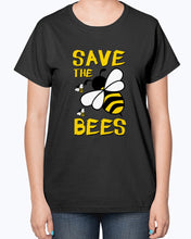 Load image into Gallery viewer, Gildan 2000L Ultra Cotton Ladies T-Shirt 13 colors Dark         Save the BEES 2