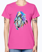 Load image into Gallery viewer, Gildan Ladies Missy T-Shirt Horse