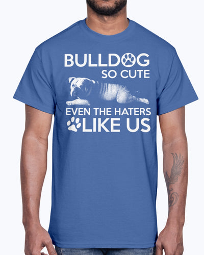 Men's Gildan Ultra Cotton T-Shirt   Bulldog so cute