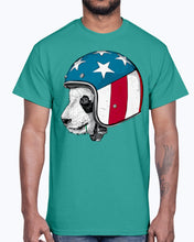Load image into Gallery viewer, Men's Gildan Ultra Cotton T-Shirt. From Beijing to New York An adorable panda wearing