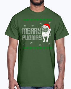 Men's Gildan Ultra Cotton T-Shirt   New pug