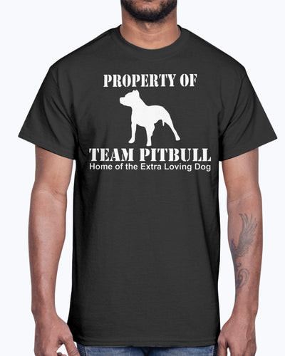 Men's Gildan Ultra Cotton T-Shirt  My Dog Pitbull