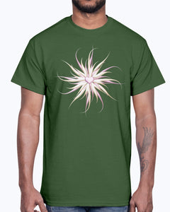 Men's Gildan Ultra Cotton T-Shirt . Starfish with heart