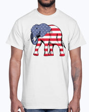 Load image into Gallery viewer, Men's Gildan Ultra Cotton T-Shirt        American Elephant