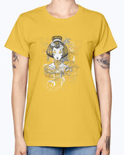 Load image into Gallery viewer, Gildan Ladies Missy T-Shirt.  Designious tshirt