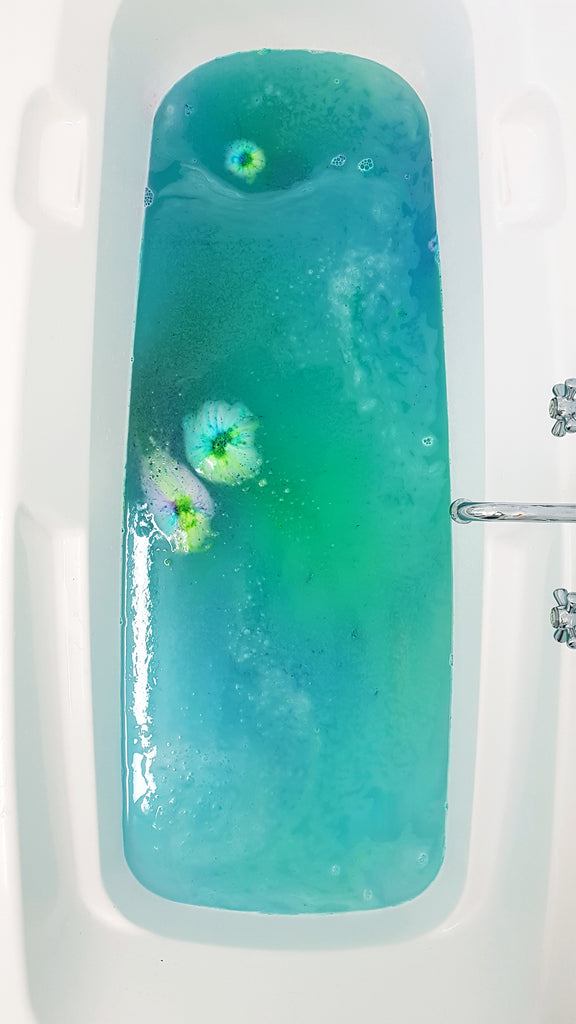 Mermaid Bubbles Mini bath bomb pack