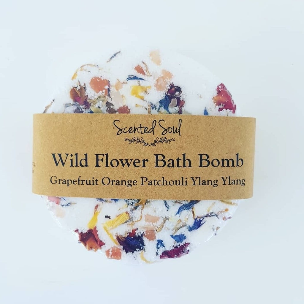 Wild Flower - Naked Bath Bomb