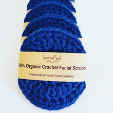 Load image into Gallery viewer, Organic Cotton Face Scrubbies