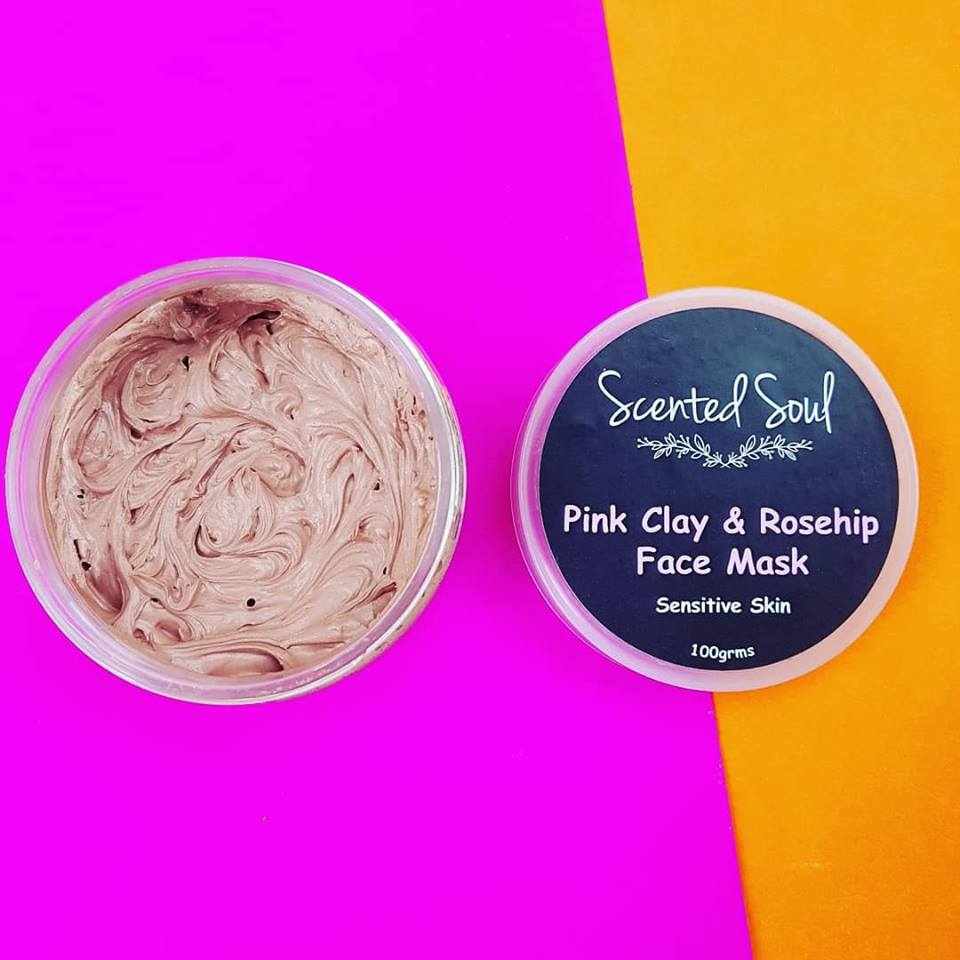 Pink Clay & Rosehip Face Mask