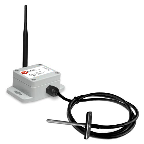 ULTRA Industrial Wireless Duct Temperature Sensor with Solar Power (900 MHz)