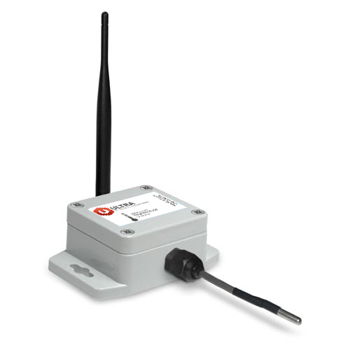 ULTRA Industrial Wireless Temperature Sensor with 25 Foot Probe with Solar Power (900 MHz)