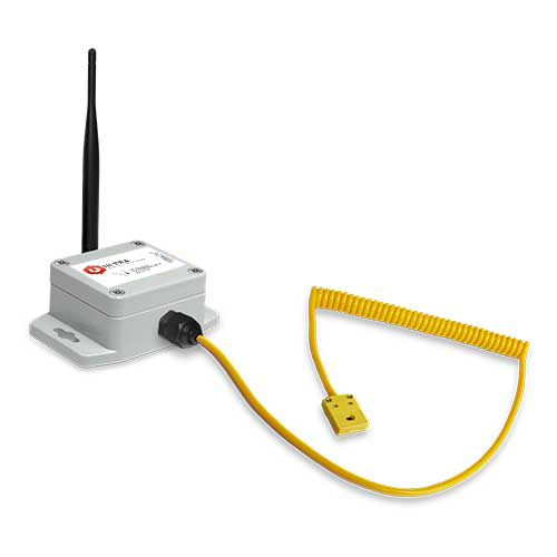 ULTRA Industrial Wireless Thermocouple Sensor (K-Type Quick Connect) with Solar Power (900 MHz)