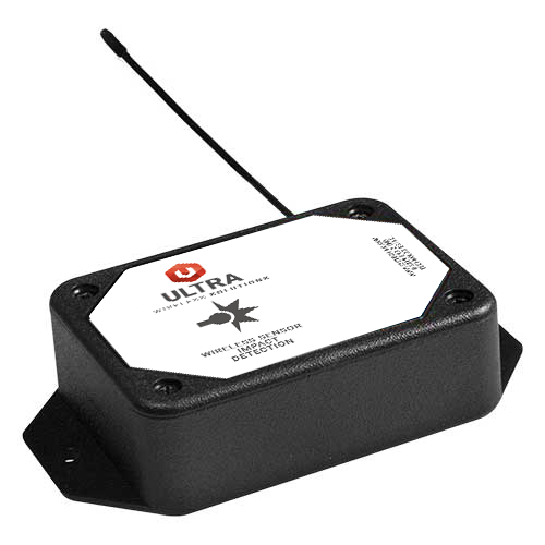ULTRA Wireless Accelerometer - Impact Detect Sensor - AA Battery Powered (900 MHz)