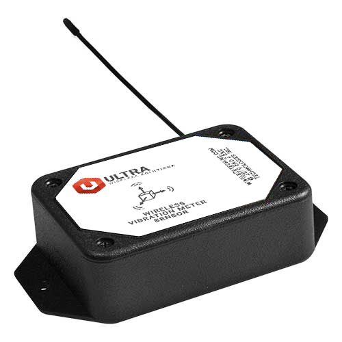ULTRA Industrial Wireless Accelerometer - Vibration Meter with Solar Power (900 MHz)