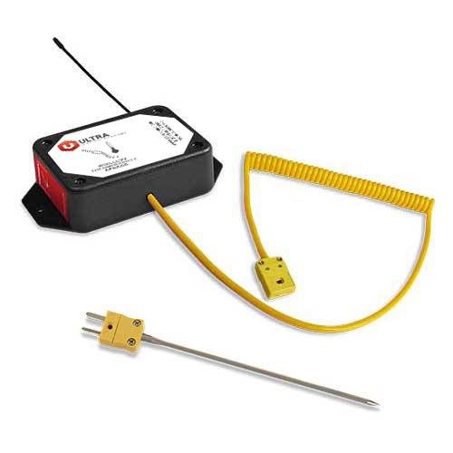 ULTRA Wireless Thermocouple Sensor (K-Type Quick Connect with Probe) - AA Battery Powered (900 MHz)