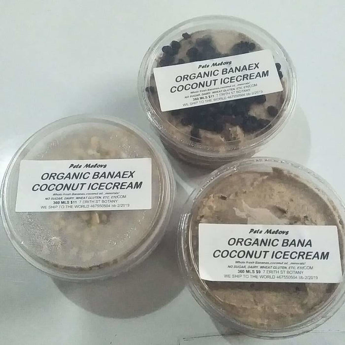 Organic Guilt-Free Coconut Icecream